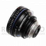 Carl Zeiss CP.2 25/T2.1 T* PL-mount